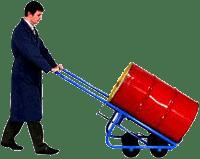 4 weel drum truck