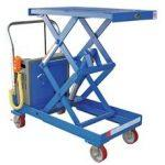 Battery Operated Double Scissor Lift