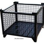 Wire Mesh Steel Bulk Containers