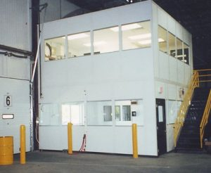 Mezzanine Level Modular Offices