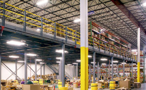 Using a Mezzanine to Increase Productivity in Your Warehouse