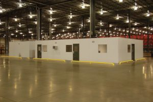 Advantages of Using Modular Offices in Your Warehouse